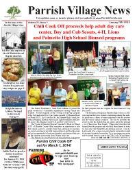 Parrish Village News archived issue January 2014