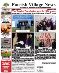 Parrish Village News archived issue January 2015