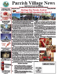Parrish Village News archived issue January 2018