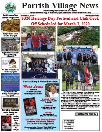 Parrish Village News archive issue January 2020