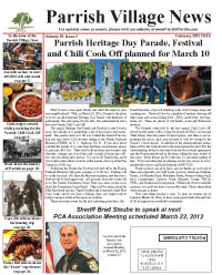 Parrish Village News archived issue February 2012
