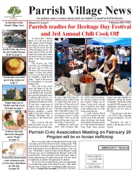Parrish Village News archived issue February 2014