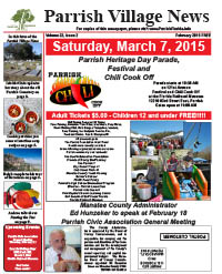 Parrish Village News archived issue February 2015