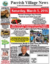 Parrish Village News February 2016 issue