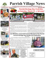 Parrish Village News archived issue March 2012