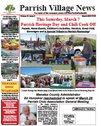 Parrish Village News archived issue March 2015