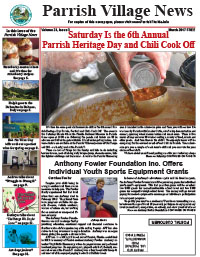 Parrish Village News archived issue March 2017