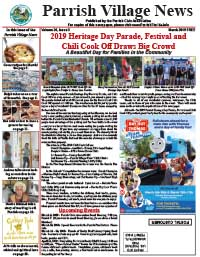 Parrish Village News archive issue March 2019