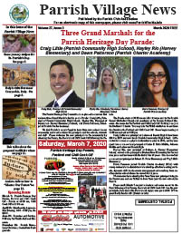 Parrish Village News archive issue March 2020