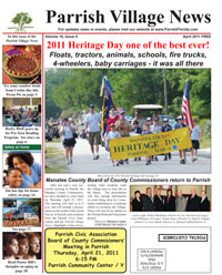 Parrish Village News archived issue April 2011