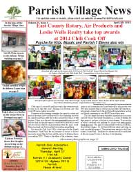 Parrish Village News archived issue April 2014