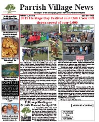 Parrish Village News archived issue April 2015