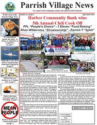 Parrish Village News archived issue April 2016 - Chili Cook Off Issue