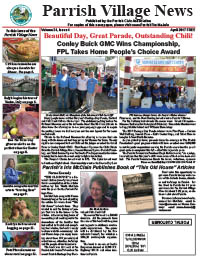 Parrish Village News archived issue April 2017
