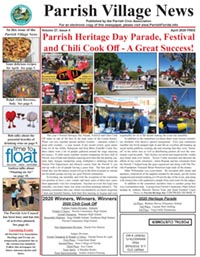 Parrish Village News archive issue April 2020