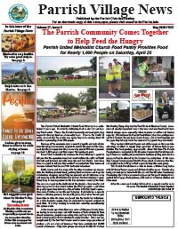 Parrish Village News archive issue May 2020