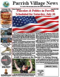 Parrish Village News archived issue June 2016