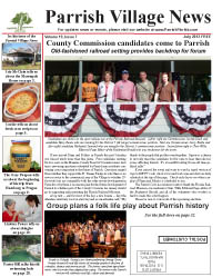 Parrish Village News archived issue July 2012