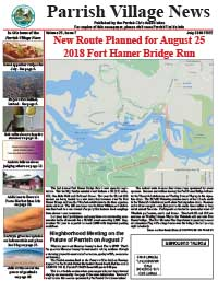 Parrish Village News archive issue July 2018