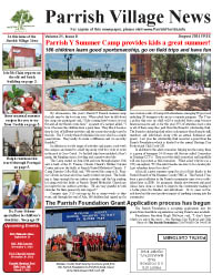 Parrish Village News archived issue August 2014