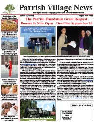 Parrish Village News archived issue August 2015