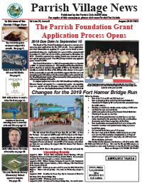 Parrish Village News archive issue August 2019