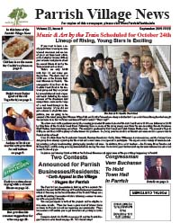 Parrish Village News archived issue September 2015