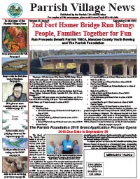 Parrish Village News archive issue September 2018