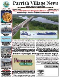 Parrish Village News archive issue September 2020