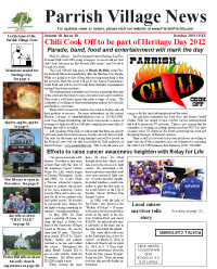 Parrish Village News archived issue October 2011