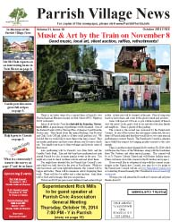 Parrish Village News archived issue October 2014
