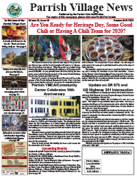 Parrish Village News archive issue October 2019