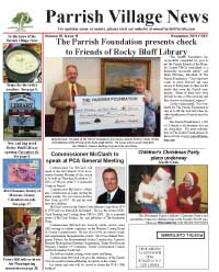 Parrish Village News archived issue November 2011