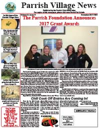 Parrish Village News archived issue November 2017