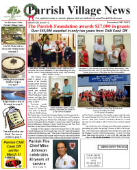 Parrish Village News archived issue December 2013