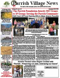 Parrish Village News archived issue December 2015