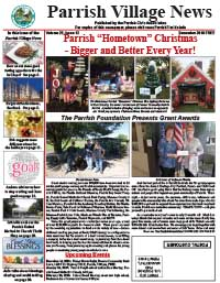 Parrish Village News archive issue December 2018